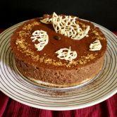 Gâteau à la mousse au chocolat craquante